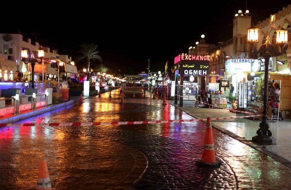 Sharm el-Sheikhi turismisektori esindajad: ilma venelaste ja brittideta sureb kuurort välja