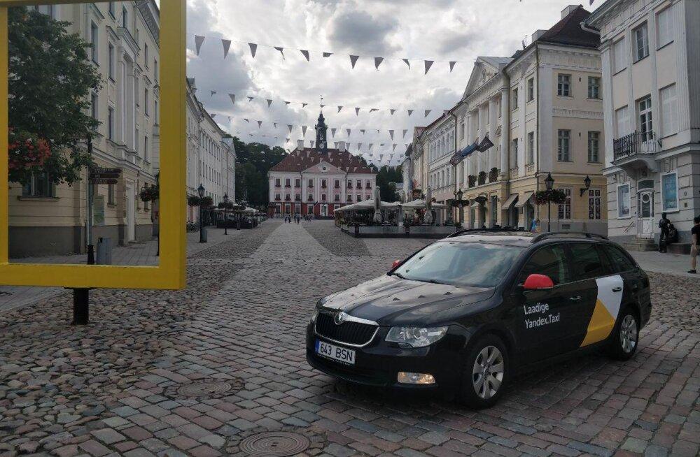Yandex Taxi tegutseb nüüd ka Tartus