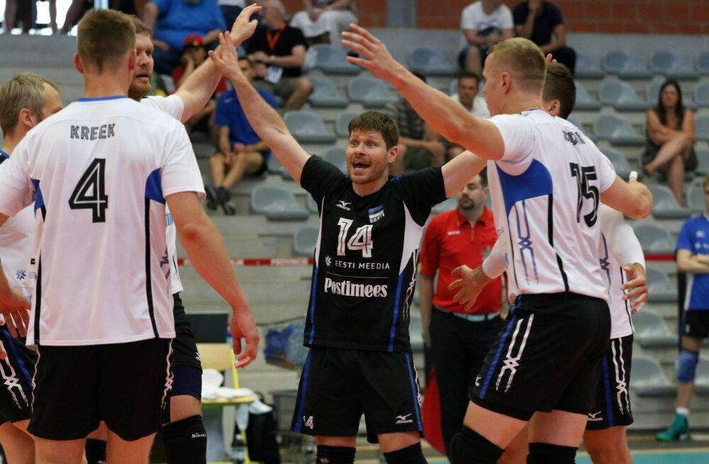 Eesti (valges) - Hispaania MM-valikmäng