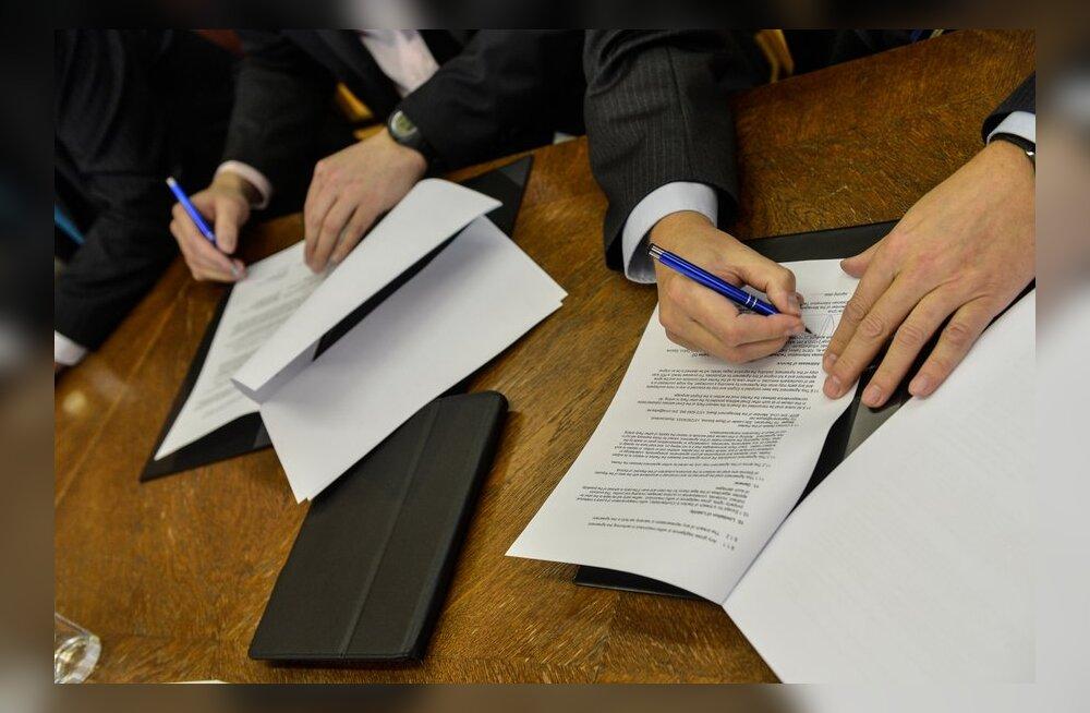 FOTOD: Skype Eesti ja IT Akadeemia allkirjastasid sponsorleppe