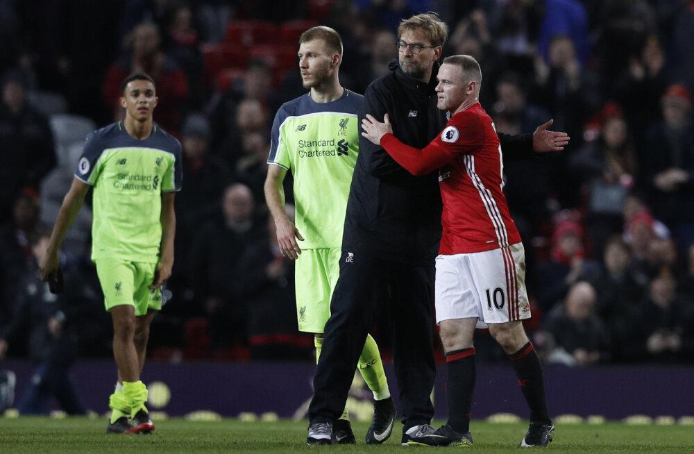 Wayne Rooney: Jürgen Klopi ainus viga on, et ta juhendab Liverpooli
