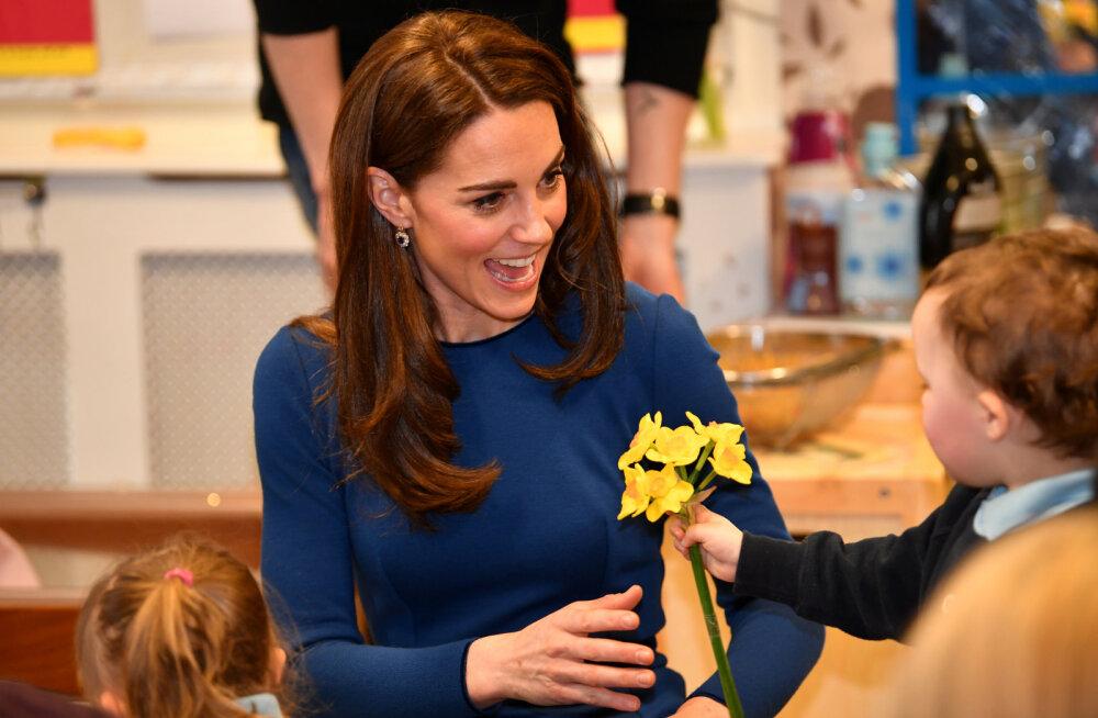 Kas Kate Middleton mõtleb neljandale lapsele?