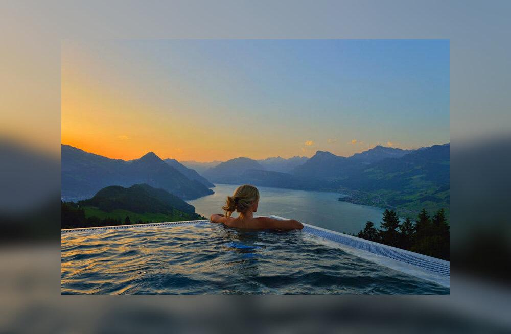 Отель в Швейцарии стал интернет-сенсацией