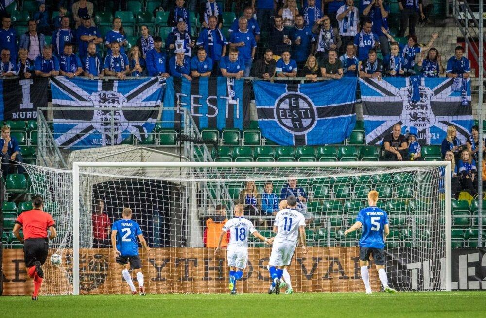 Eesti - Kreeka jalgpallimäng