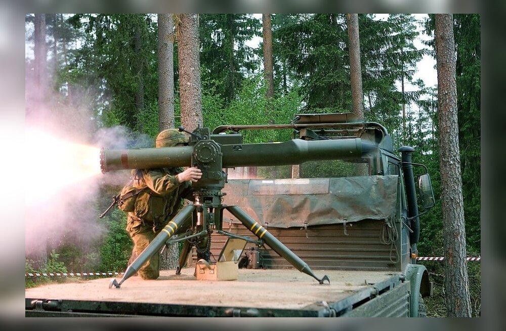 Tankitõrjerelva MAPATS saab kasutada ka õhust tuleva ohu puhul
