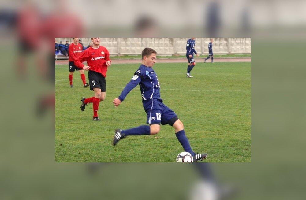 Sillamäe Kalev sai Saaremaal raske võidu