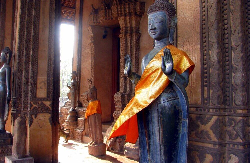Луангпхабанг — город, где живет Будда