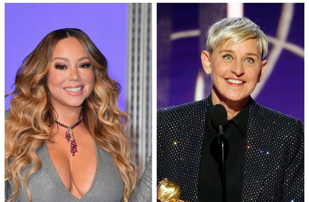 Ellen DeGeneres sundis Mariah Careyt rasedusest rääkima ja vaid loetud nädalad hiljem see katkes: ma ei taha seda arutada