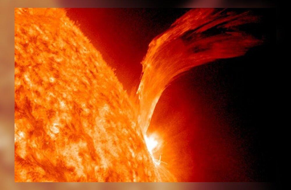 Röögatu purse Päikesel vallandas seitsme aasta ägedaima kiirgustormi
