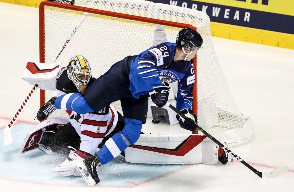 Soome hokikoondis tegi MM-ile lennuka alguse.