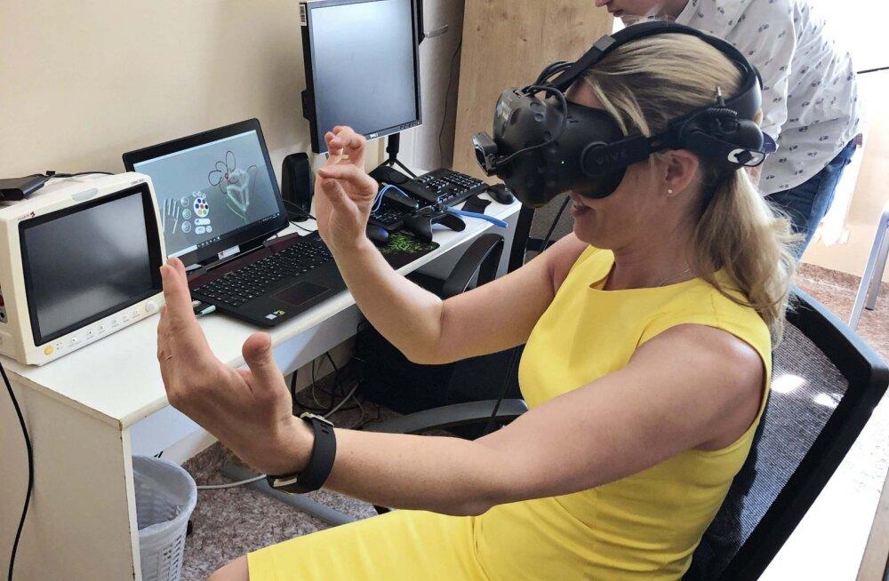 TÜK lastekliiniku neuroloogia osakond arendab heategijate toel väikseid patsiente virtuaalreaalsuse seadmete abil