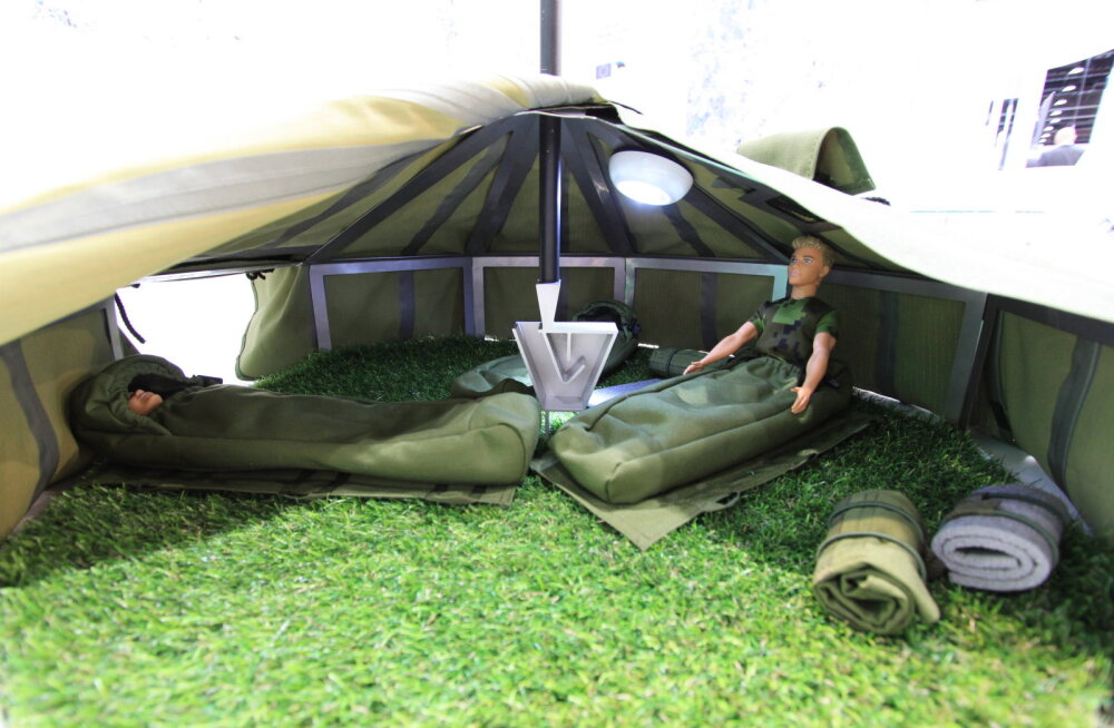 FOTOD: Eesti kaitsetööstusettevõtted osalevad eksootilisel messil