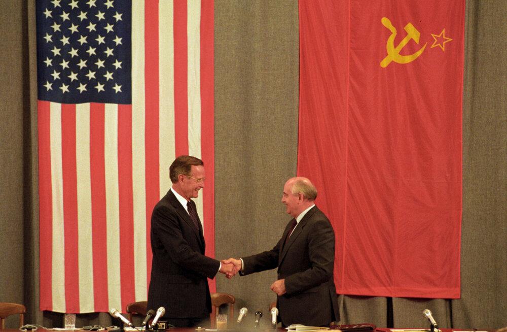 Urmas Paet: meil vedas, et suurte muutuste ajal oli USA president põhimõttekindel poliitik George H.W. Bush