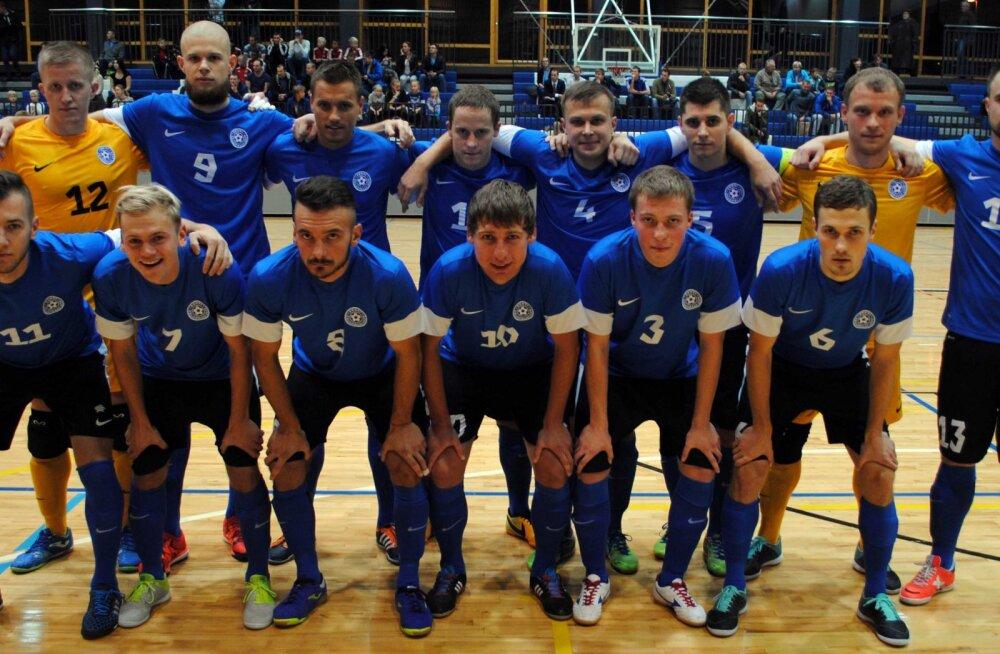 Saalijalgpallikoondis sõidab Küprosele valikturniirile