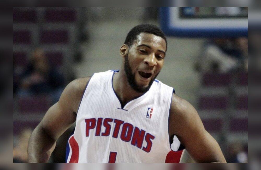 NBA TOP: 19-aastane mürakas Andre Drummond lammutab