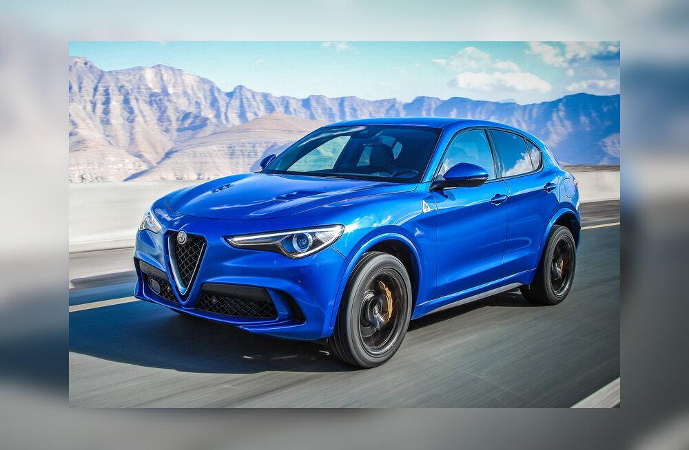 PROOVISÕIT | Alfa Romeo Stelvio Quadrifoglio: maailma kiireim linnamaastur