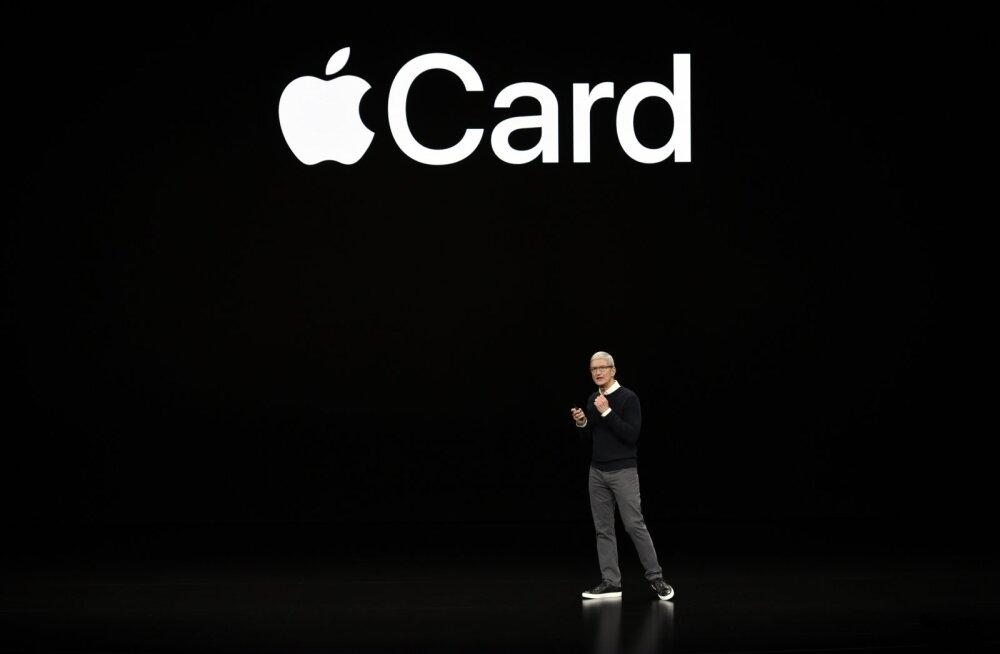 Apple tutvustas uusi tooteid: sarjad, uudisteplatvorm ja krediitkaart