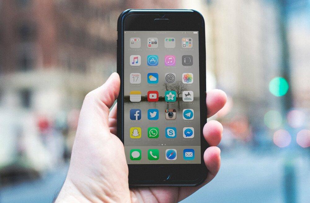 Eestlaste nutieelistused: telefone ostetakse aina rohkem ja üha suurema summa eest