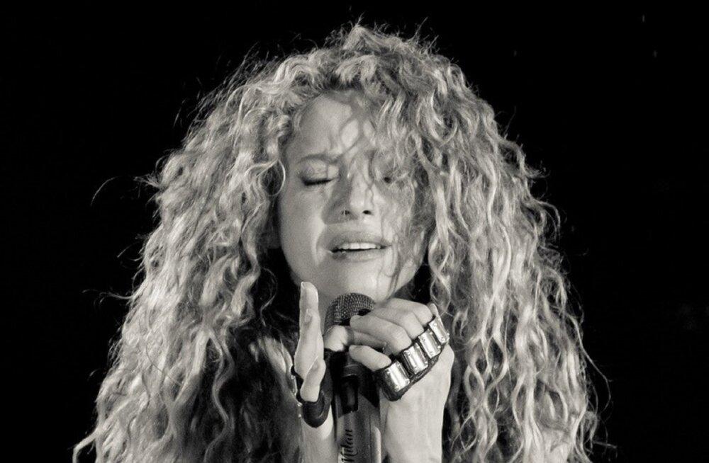 Eesti kinodesse jõuab Shakira võimsaima maailmaturnee kontsertfilm