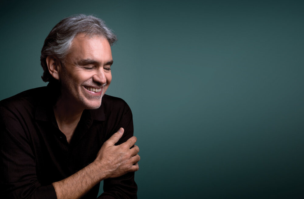 Andrea Bocelli annab 20. augustil Tallinna lauluväljakul suurejoonelise kontserdi!
