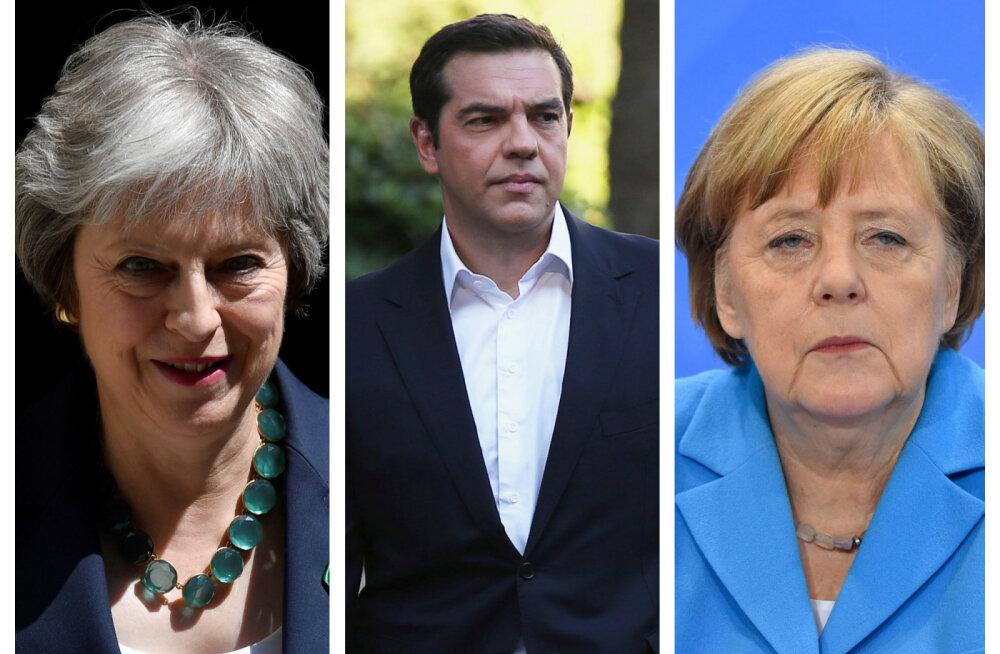 ÜLEVAADE | Lõppeval nädalal sattus ohtu nii Saksa, Briti kui Kreeka valitsusjuhtide tulevik