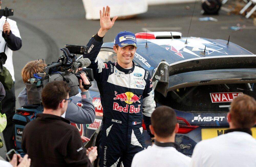 Viiekordne autoralli maailmameister Sebastien Ogier