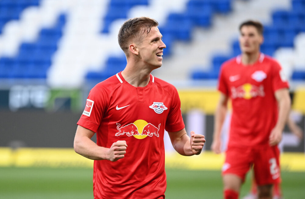 Magusa võidu teeninud Leipzig kerkis Dortmundi kannule