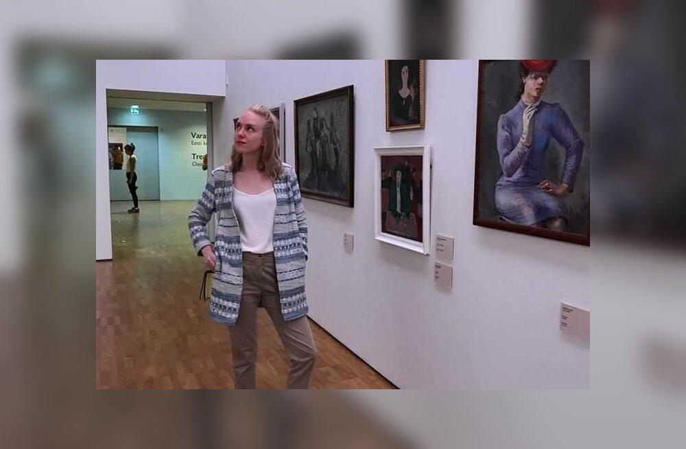 Grete-Maarja puhkab vaimu muuseumis
