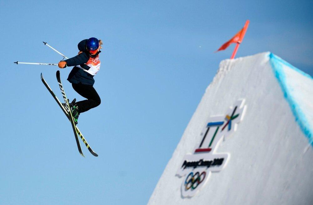 Tiril Sjaastad Christiansen olümpiafinaalis.