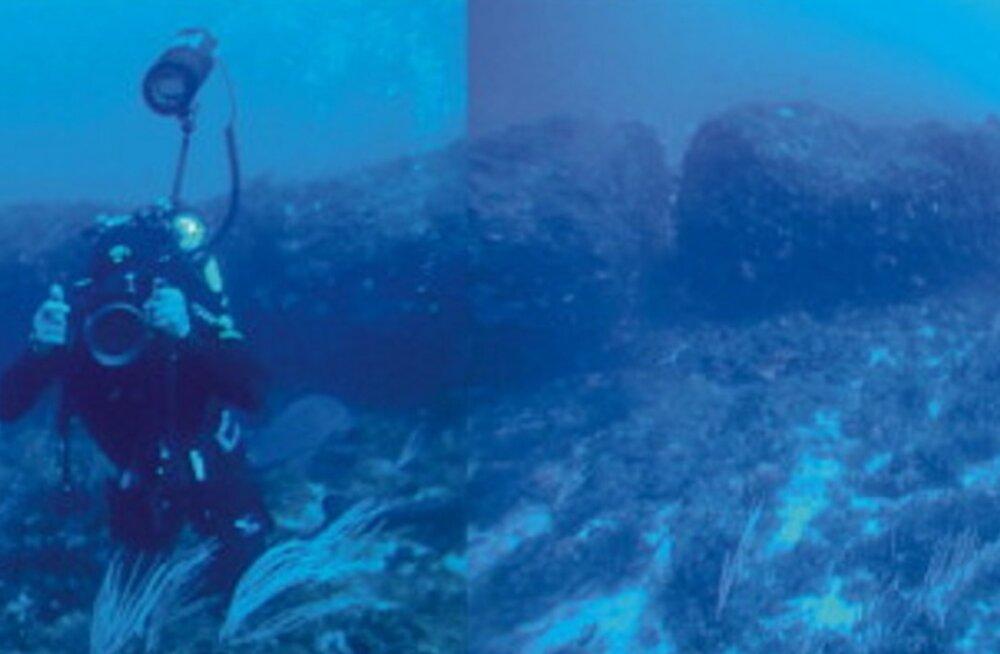 Aja jälg kivis: Vahemerest leiti salapärane iidne monoliit