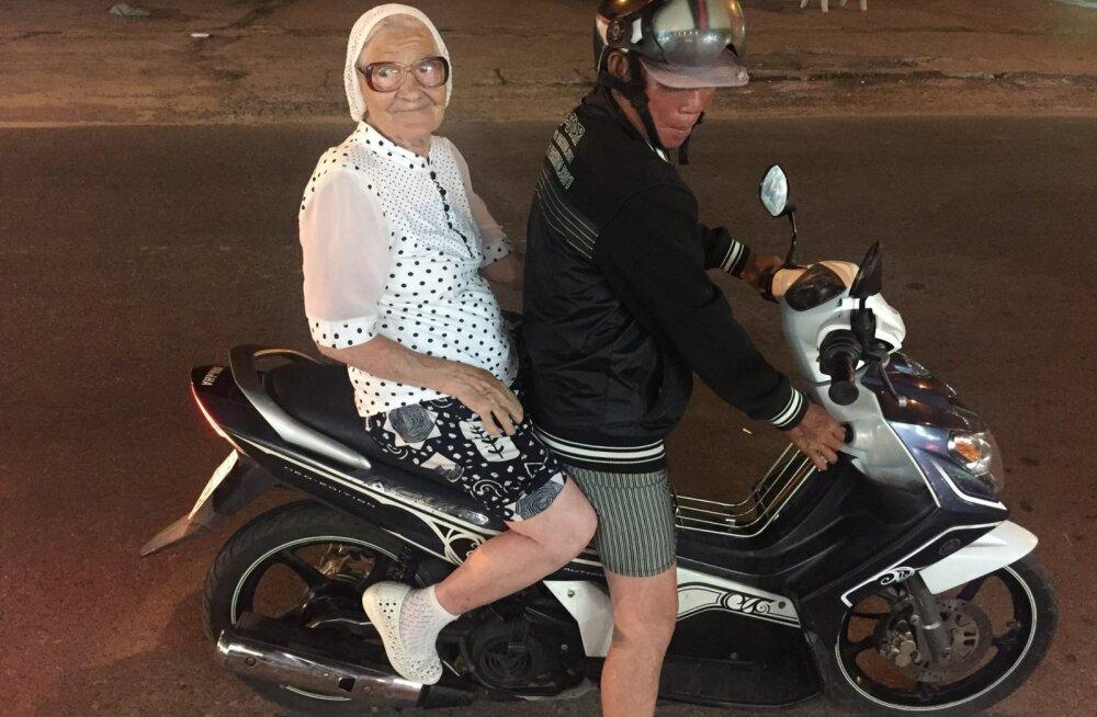 90-летняя путешественница показала, что значит жить на полную катушку