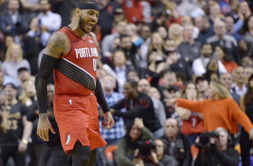 VIDEO   Veteranide suur päev NBA-s: Carmelo Anthony ja Chris Paul tõusid kangelasteks