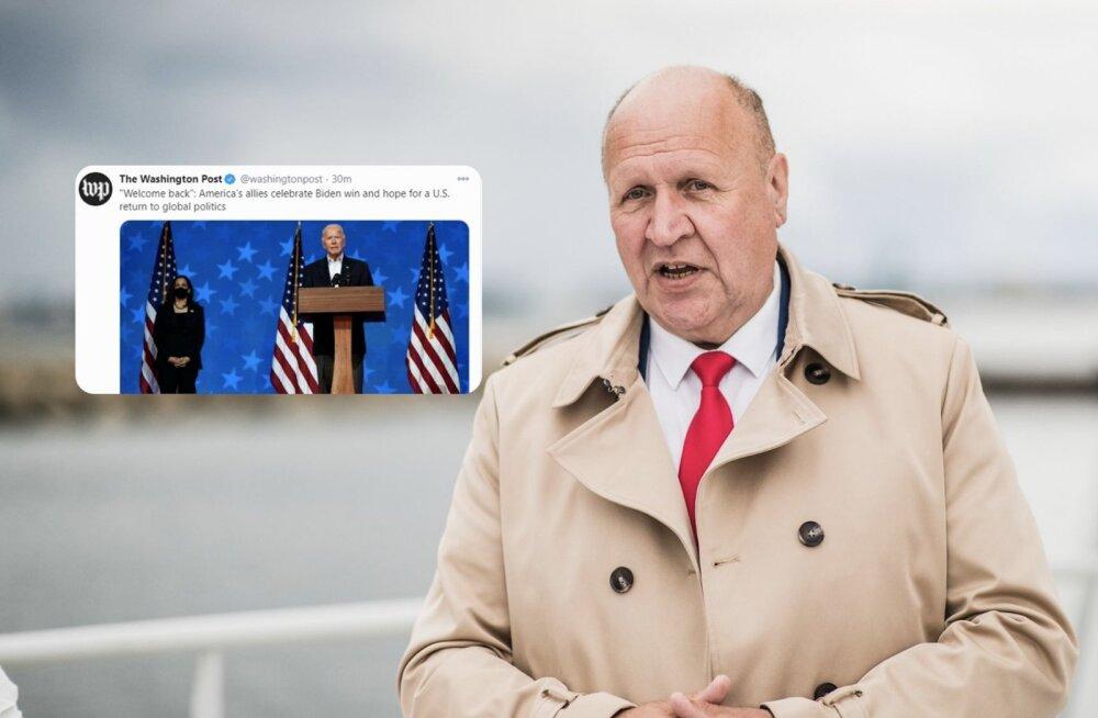 Mart Helme sõnavaling ületas The Washington Posti uudisekünnise. Leht hindab: paistab, et Trumpi kaotus mõjus valusalt