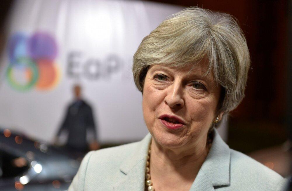Peaminister May peab Brüsselis otsustavaid Brexiti-läbirääkimisi