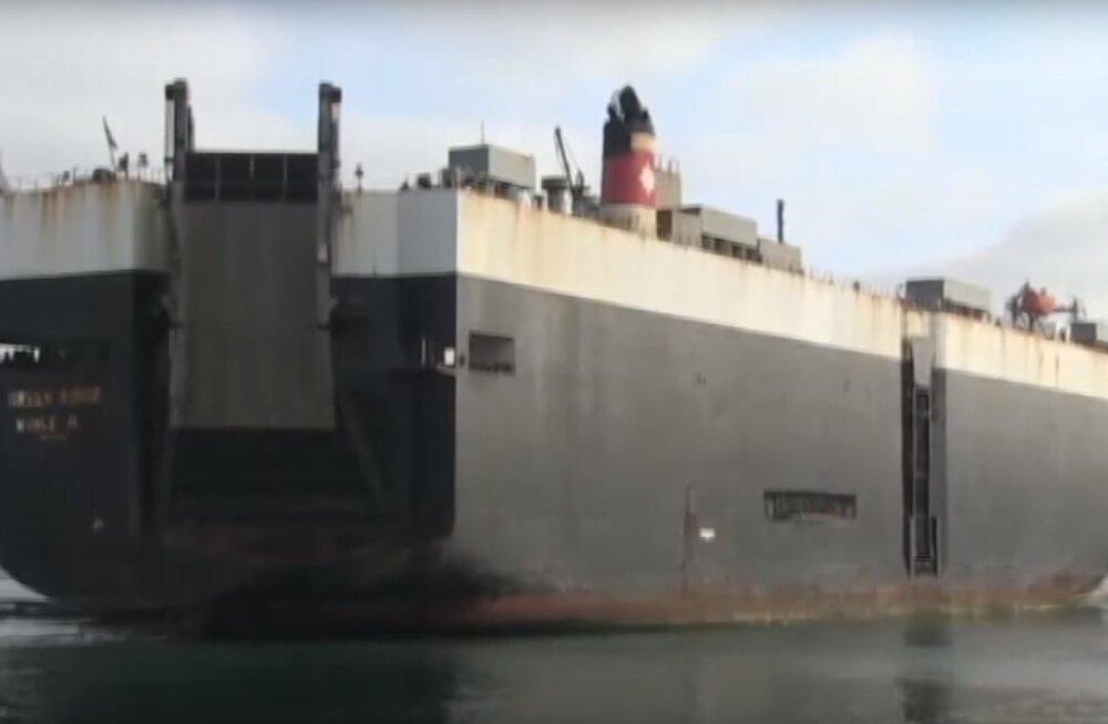 Defense News: Vene sõjalaev ja kopterid ahistasid mais Leetu õppustele varustust toonud USA kaubalaeva