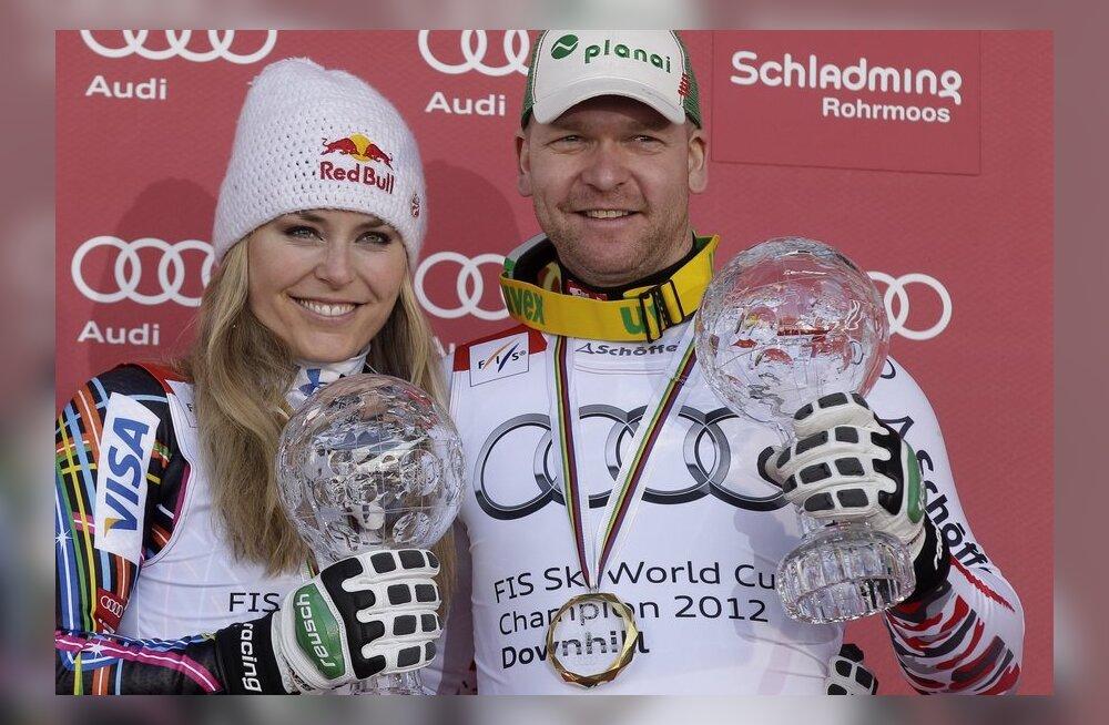 Lindsey Vonn ja Klaus Kroell
