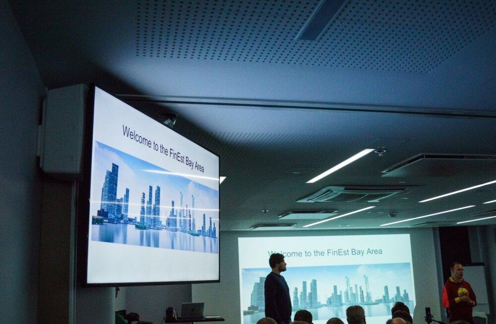 Tallinn-Helsingi tunneli pressikonverents Öpiku konverentsikeskuses