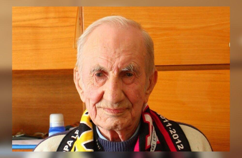 Huvitava elusaatusega endine spordimees Evald Tupits sai 90-aastaseks