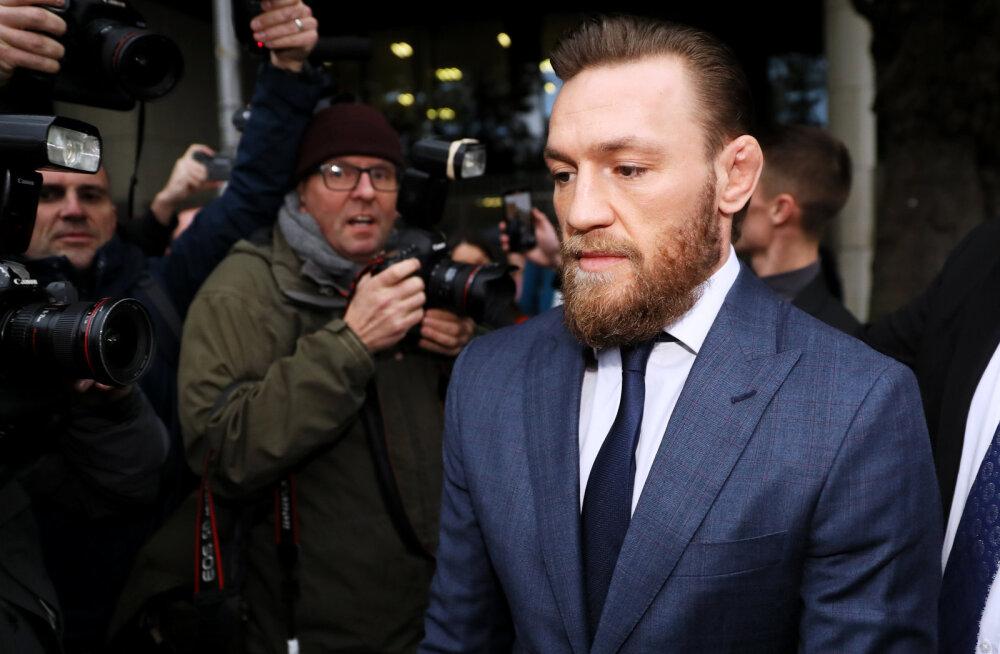 Iiri vanahärrale äsanud McGregor mõisteti rünnakus süüdi, karistuseks sümboolne rahatrahv