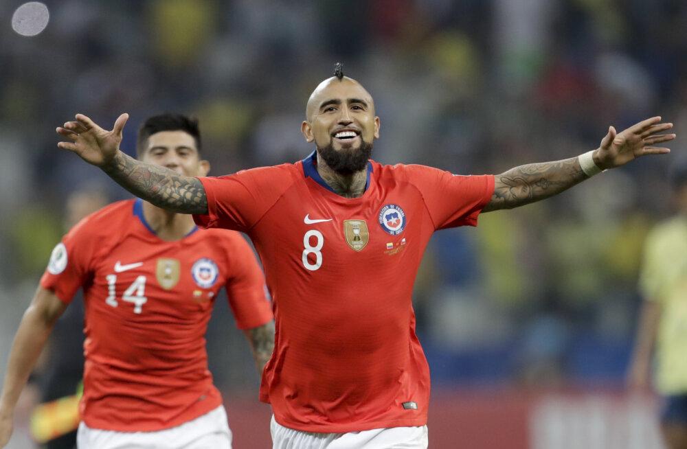 VIDEO | Kolumbia langes Copa Americalt välja, kuigi ei lasknud neljas mängus sisse ühtegi väravat