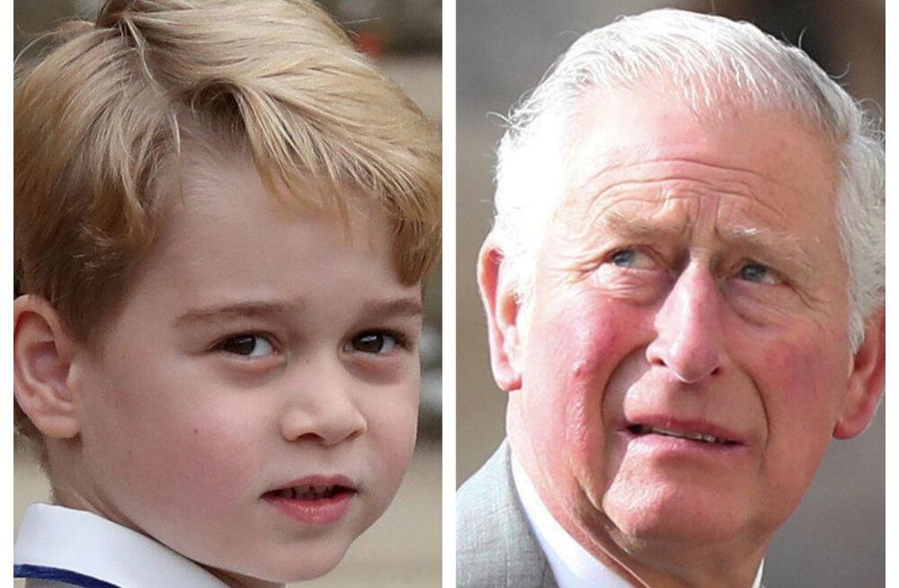 Nii armas! Prints Charles tegi prints George'ile omamoodi kingi, mis muutub aja jooksul suuremaks