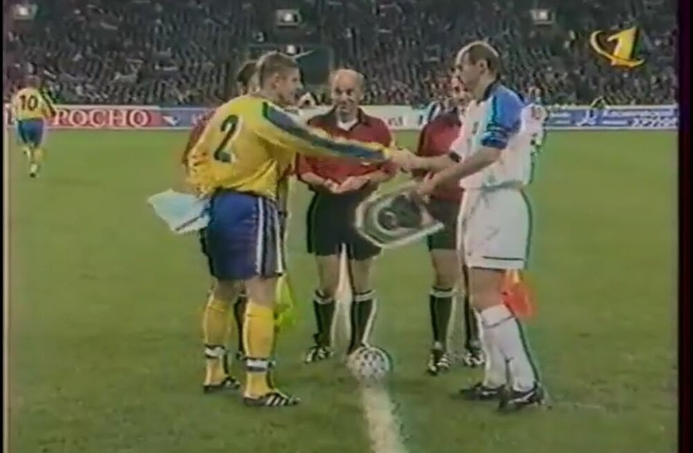 Россия - Украина, 1999 год