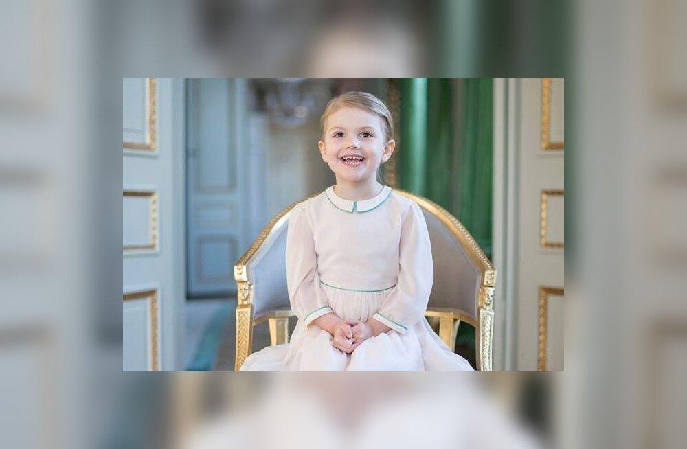 AMETLIK KLÕPS: Palju õnne! Rootsi pisiprintsess Estelle sai 4-aastaseks