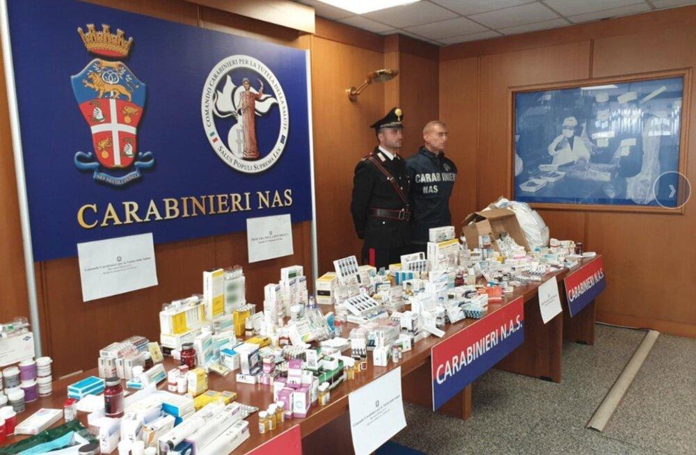 Europol sai kätte rekordilise koguse dopingut.