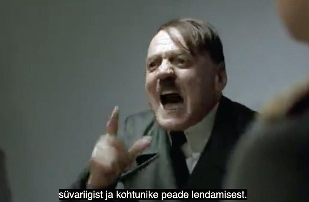 NALJAVIDEO | Hitler on maruvihane, kuna peab Helmede pärast taaskord vabandama