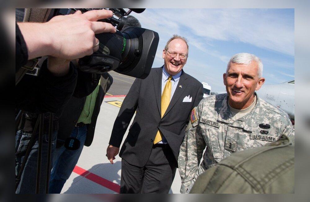 FOTOD: Kaitseväe õppust külastas USA maaväe ülem Euroopas