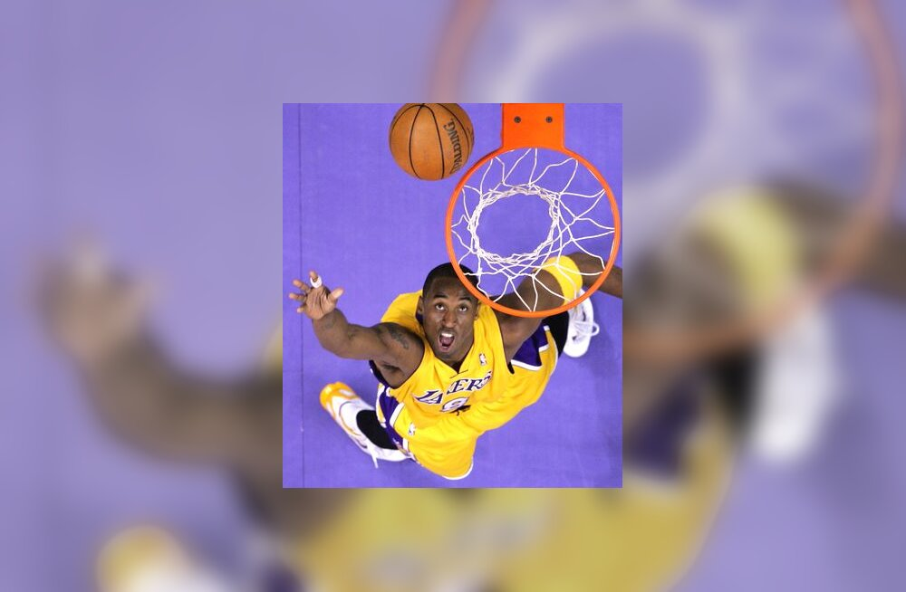 Los Angeles Lakersi korvikütt Kobe Bryant