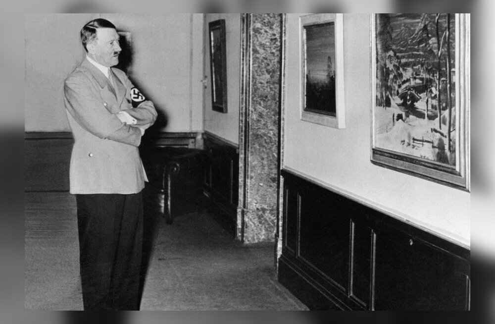 Hitleri akvarell4