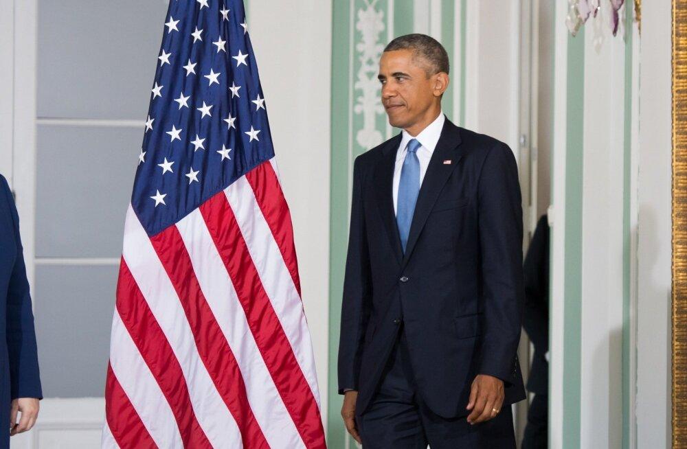Obama kohtumine baltikumi presidentidega