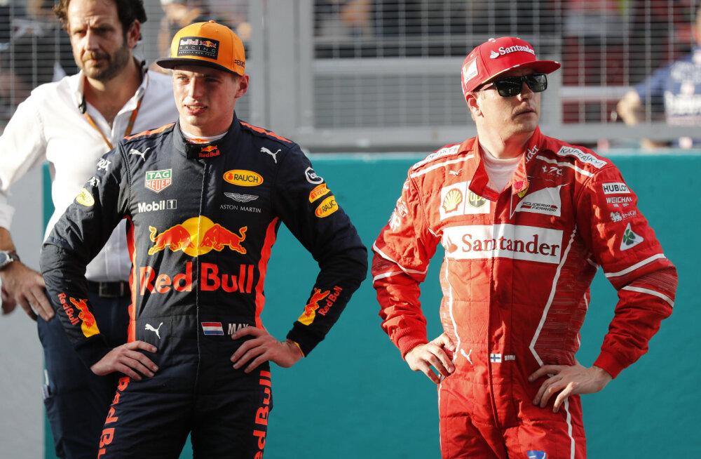 Max Verstappen Kimi Räikköneni jälgedes käia ei soovi